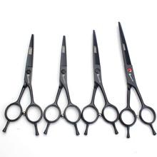 A-shaped hairdressing scissors 4.5 inch 5.5 6 7 salon professional set flat