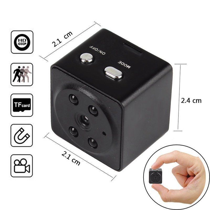 8GB Card+HD 1080P Mini  Camera Digital DVR Cam Night Vision|Surveillance Cameras| |  - title=