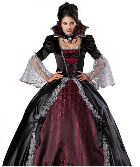 Duluxe Classique halloween vampire Zombie Diable reine Halloween Costumes Cosplay Carnaval Tenue Vestimentaire Pour Adulte Femmes