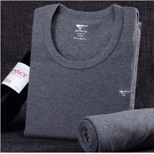 110201/Men / thermal underwear sets / cotton / autumn / clothing / pants / men round neck / V-neck / thin cotton sweater