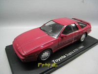 IXO 1/24 Scale Car Model Toys TOYOTA SUPRA A70 1986 Diecast Metal Car Model Toy For Collection,Gift,Kids,Decoration