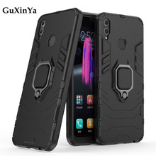 Guxinya Phone Cases For Huawei Honor 8X Case Luxury Armor Magnetic Ring Cover Shell Fundas 6.5