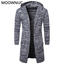 Sweater Cardigan Male Solid Cotton Smart Casual Fashion New Autumn Slim Keep Warm Homme Men Modish MOOWNUC MWC