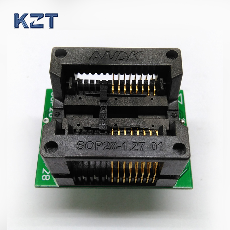 SOP16 SOIC16 SO16 to DIP16 Programming Socket Pitch 1.27mm 300mil IC Body Width 7.5mm Test Socket Adapter