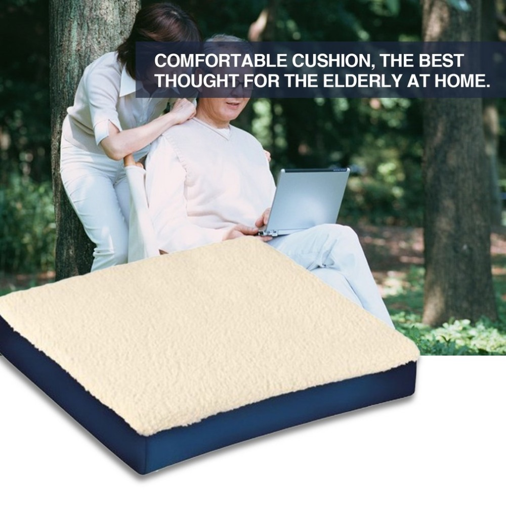 2018 Memory Foam And Gel Combination Cushion Seat Cushion Lightweight For Chair Car Office Home Bottom Sit Pad Almofada Cojines