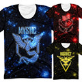 Space Pokemon Go T Shirt Men Women Summer Style Funny Japan Cartoon T-Shirt 3d Galaxy Tshirt S-XXXL