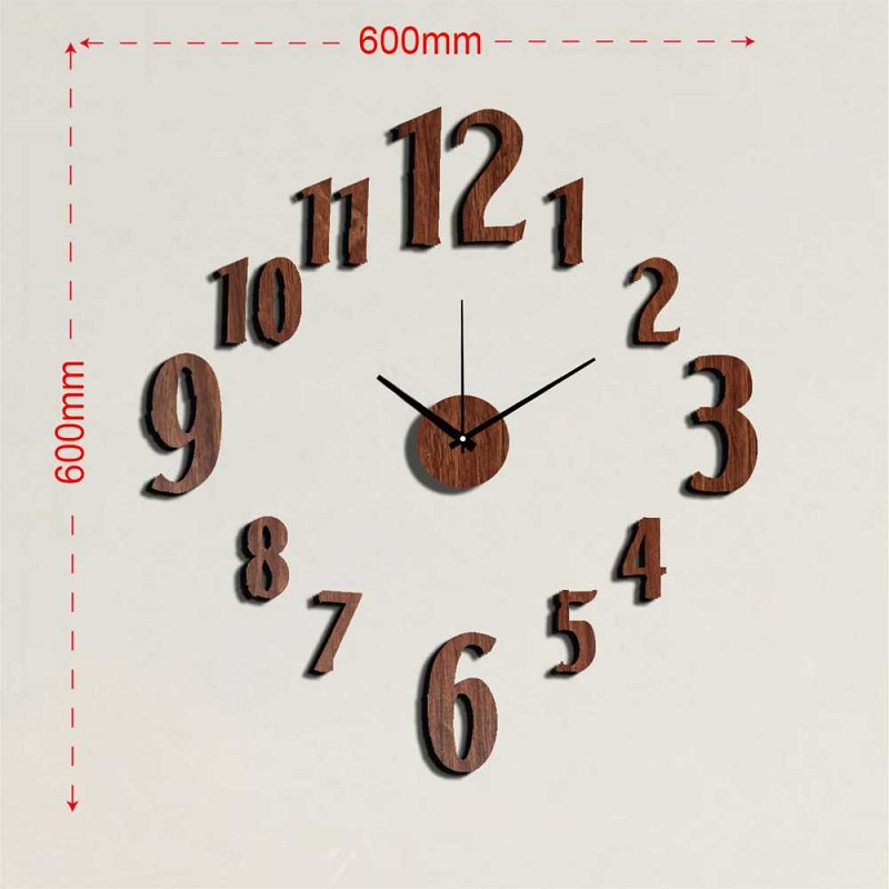 Relojes de cocina reloj pared vintage wall sticker clock - Relojes de pared cocina ...