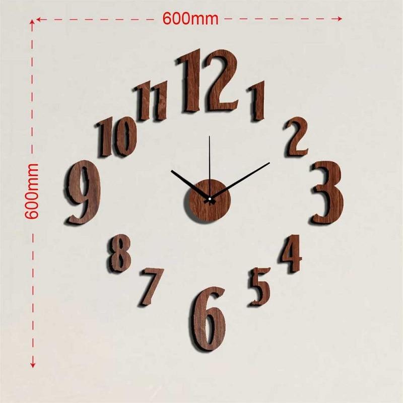 Relojes de cocina reloj pared vintage wall sticker clock - Relojes de pared personalizados ...