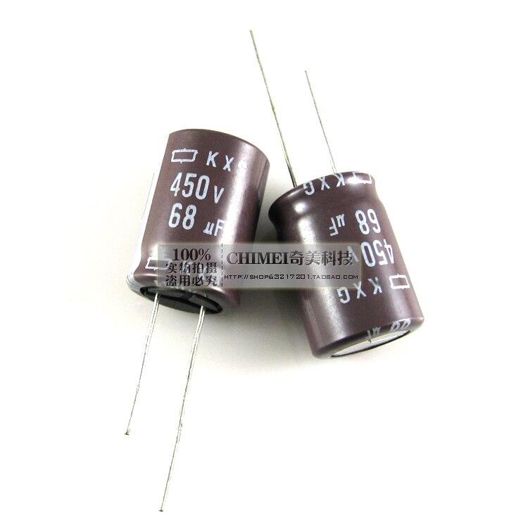 Capacitor eletrolítico 450 v 68 poder motherboard capacitores uf