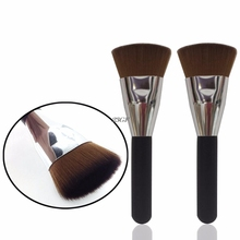 2017  Flat Contour Brush Face Cheeks Blend Makeup Cosmetic Brusher Professional  JUL25_46