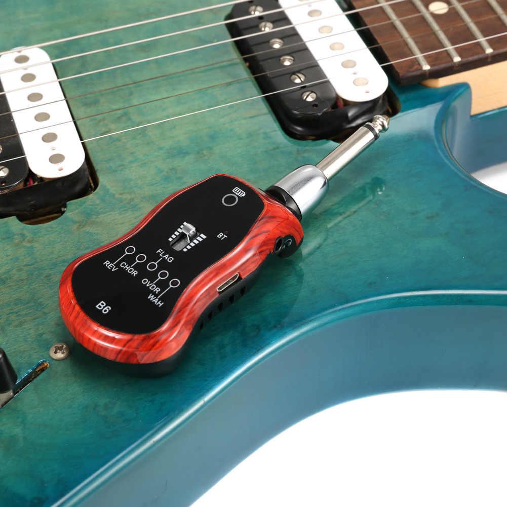 Système d'amplificateur d'effet de guitare numérique de charge d'usb de 5 modes pour le YS-BUY de Transmission de Bluetooth de soutien de guitare électrique