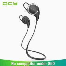 2017 QCY QY8 gamer sweatproof deportes wireless auriculares Bluetooth 4.1 auriculares in-ear auriculares auriculares con cancelación de ruido de funcionamiento