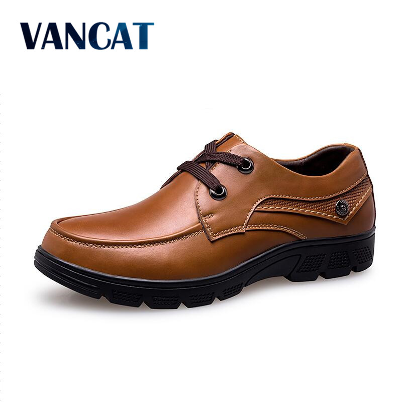 VANCAT Big Size 37-50 Mens Dress Italian Leather Shoes Luxury Brand Formal Male Shoes Glitter Business Men Mocassins Shoes 2017 new fashion italian designer formal mens dress shoes embossed leather luxury wedding shoes men loafers office for male