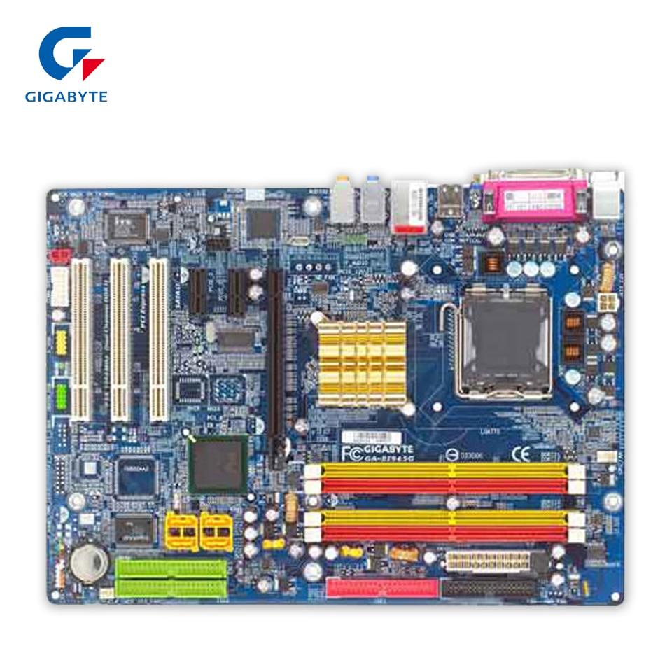все цены на Gigabyte GA-8I945G Original Used Desktop Motherboard 8I945G 945G LGA 775 DDR2 ATX онлайн