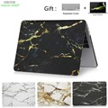 Marble Texture Laptop Case For Macbook Air Pro Retina 11 12 13 15 inch Touch Bar For Macbook New Air 13 A1932 2018 Cover