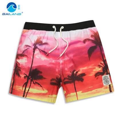 Shorts dos Homens do Mar Calções de Praia de Surf Marca Férias Swim Shorts Verão Novo Homens Tamanho Grande Solto Quick Dry Man Água Esporte gl