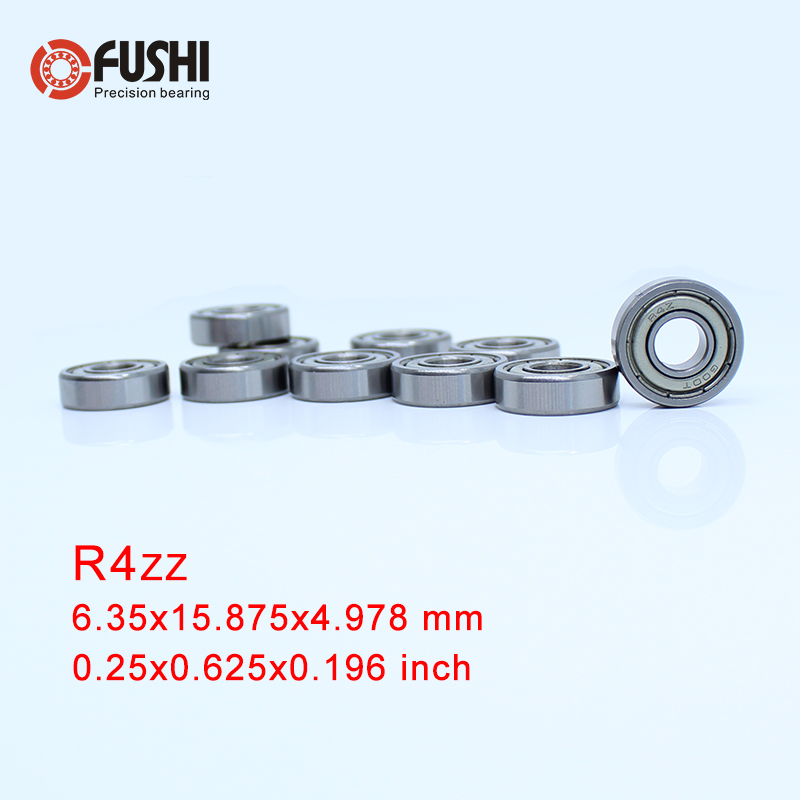 R4zz  R4Azz Bearing R6zz R8zz ABEC-1 10PCS Double Shielded Inch Miniature Ball Bearings R4z R4Az R6z R8zR4zz  R4Azz Bearing R6zz R8zz ABEC-1 10PCS Double Shielded Inch Miniature Ball Bearings R4z R4Az R6z R8z
