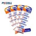 PKCELL Alta Calidad 4 Pack 20 Unids 23AGP 12 V 23A A23 V23GA VR22 MN21 PILA alcalina baterias de control remoto la Cámara del juego batería