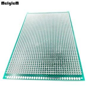 Image 1 - 20 шт 9x 15 см Прототип PCB 2 слоя 9*15 см панель универсальной платы двойная сторона 2,54 мм зеленый