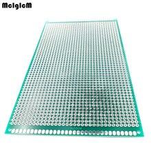 20 قطعة 9x15 سم PROTOTYPE PCB 2 طبقة 9*15 سنتيمتر لوحة مجلس العالمي ضعف الجانب 2.54 مللي متر الأخضر