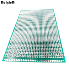 20 pcs 9x15 cm 프로토 타입 PCB 2 레이어 9*15CM 패널 범용 보드 양면 2.54MM 녹색