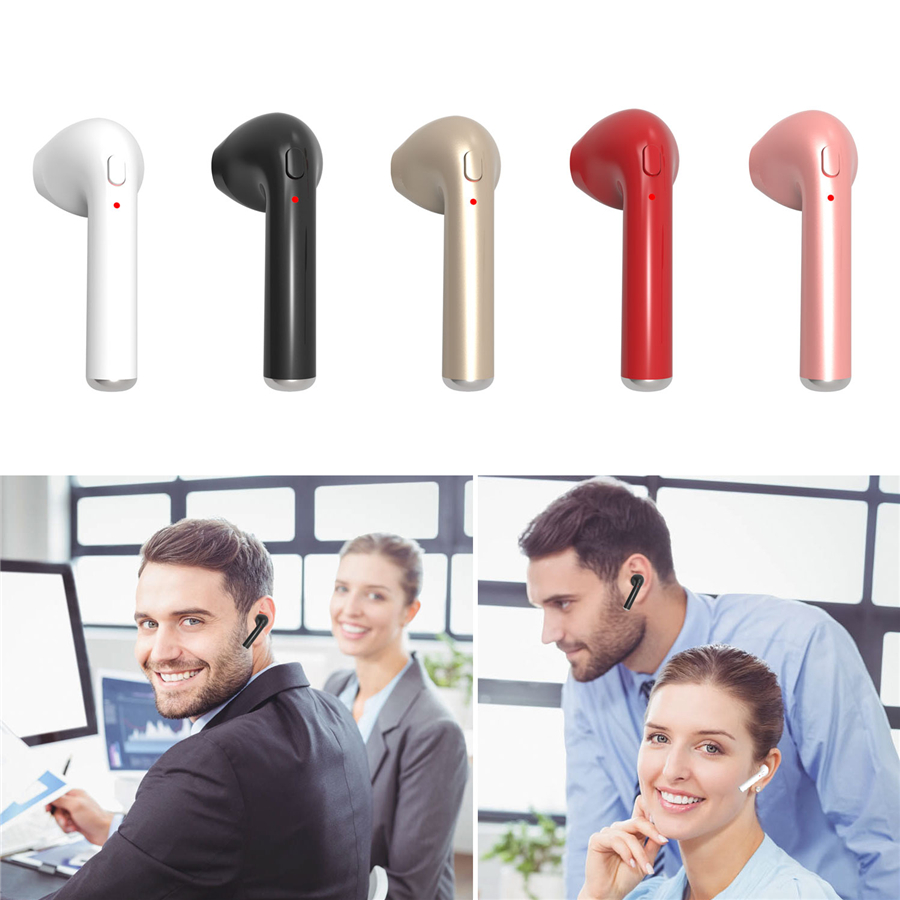Mini Bluetooth Earphone Handsfree Earbud Wireless Invisible Headset With Mic Stereo bluetooth Earphone for Iphone Android bluetooth earphone mini wireless stereo earbud 6 hours playtime bluetooth headset with mic for iphone and android devices