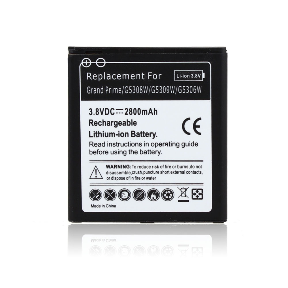 2800mAh EB-BG530BBC Replacement Li-ion Battery For SamSung Galaxy Grand Prime G5308W G5309W G5306W