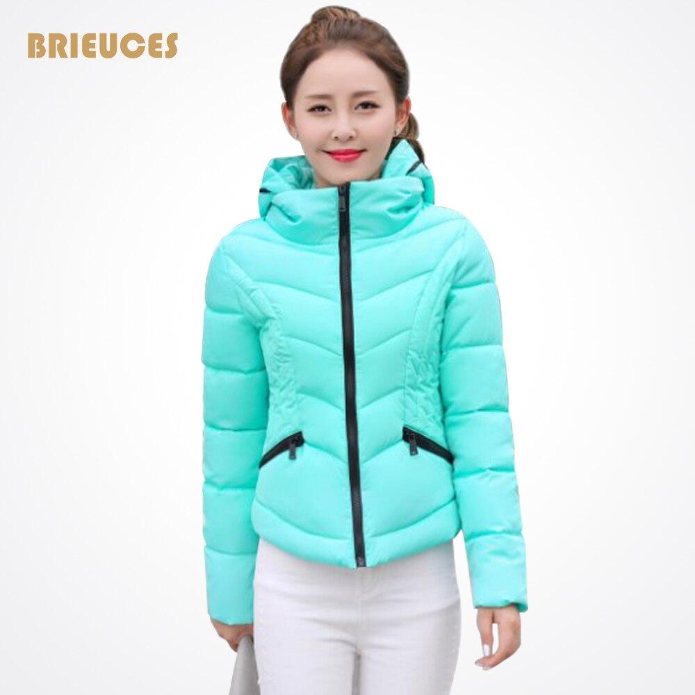 ФОТО 2016 new fashion winter jacket women warm casual hooded plus size slim jackets women down cotton coats parka winter coat women
