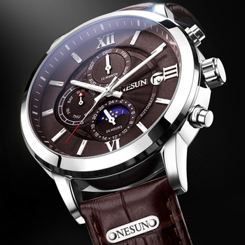 (Lowest price) Switzerland Nesun Watch Men Luxury Brand Automatic Mechanical Men Watches Sapphire Luminous Waterproof watch
