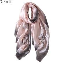 2016 Fashion Women Lady Spring Autumn Soft Long Voile Neck Large Silk Scarf Women Wrap Shawl
