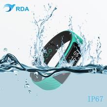 RDA Smart Band сердечного ритма Мониторы браслет Фитнес шагомер ID67 Flex Браслет для Android IOS PK xio Mi mi Группа 2