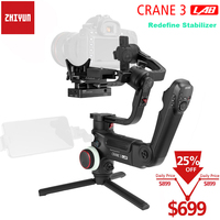 Zhiyun Crane 3 LAB 3 Axis Wireless FHD Image Transmission Camera Stabilizer ViaTouch Control Handheld Gimbal for Sony Canon DSLR