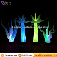 stage show decoration beautiful led inflatable tree with opening branch, party decoration supplies inflatable toy