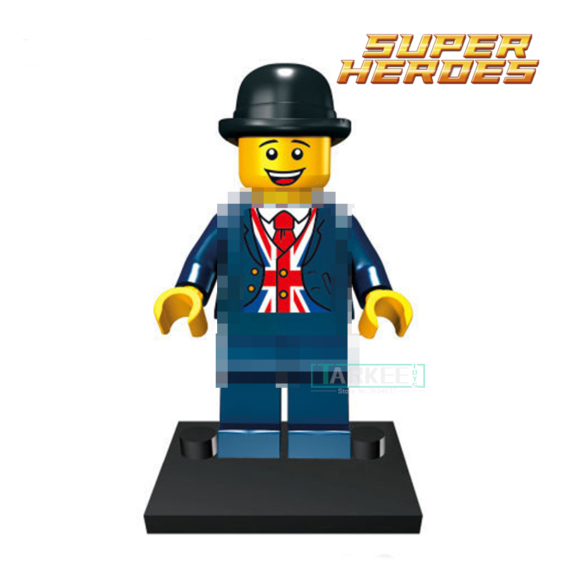 Building Blocks Mr Lester diy figures Marvel Super Heroes Avengers X-Men Star Wars Sets Model Bricks Kids Classic Toys Xmas Gift single building blocks kits ninja pythor kozu lloyd zane nya figures super heroes star wars model bricks kids toys hobbies x0143