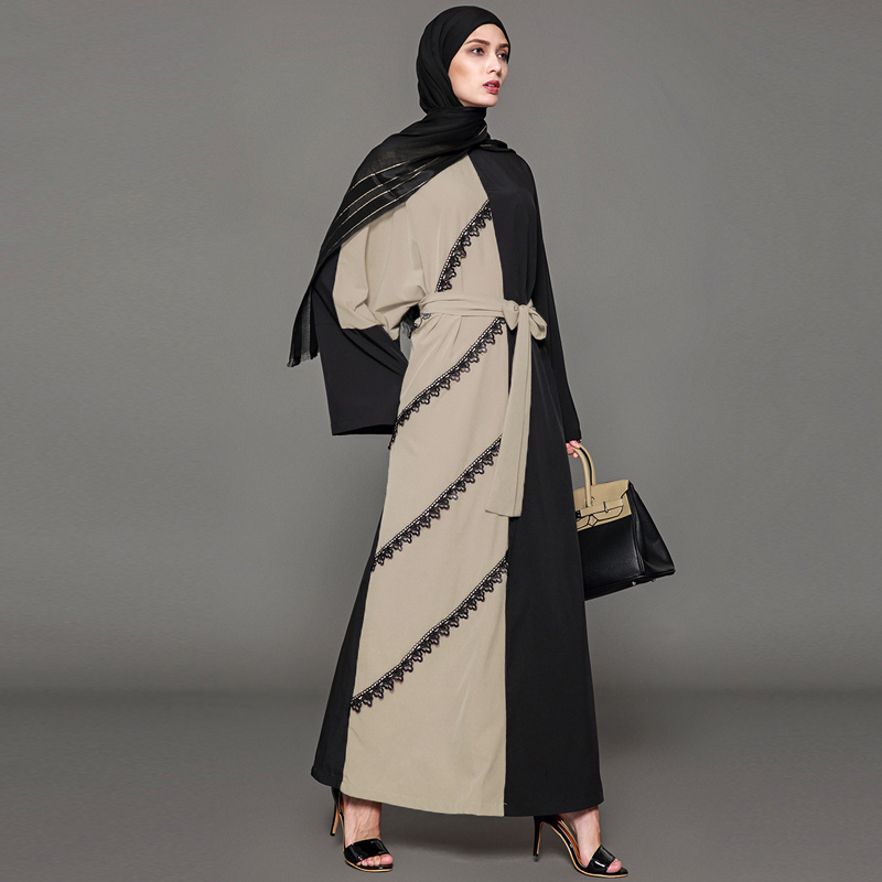 Eccentric Lace Dubai Abaya, Hijab for Arab Women