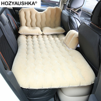 Flocking car bed Automotive interior supplies car travel bed Inflatable bed Car travel mattress Double-turn lathe sofa