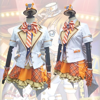 2018 New LoveLive! Card HR Kousaka Honoka Cosplay Costume Fancy Dress Adult Costumes Carnival/Halloween Costumes for Women S-XL 1