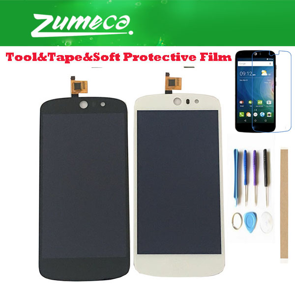 High Quality <font><b>4.5</b></font> <font><b>Inch</b></font> For Acer Liquid Z530 <font><b>LCD</b></font> Display Screen+<font><b>Touch</b></font> Screen Digitizer Assembly Black White Color <font><b>With</b></font> Kits image