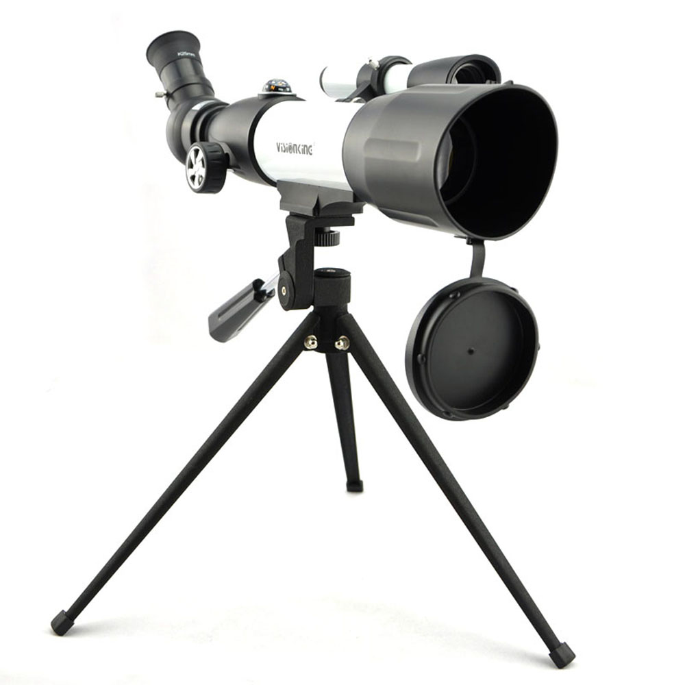 Visionking High Quality CF50350 120X Monocular Space Astronomical Telescope Black and White Astronomical Telescope With Tripod jiehe high quality cf350 60mm monocular space astronomical telescope with tripod powerful zoom monouclar telescope high times