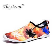 Thestron Aqua Shoes For Unisex Summer Barefoot Men Women Water Wading Sneakers Breathable Light Couples