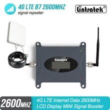 Lintratek livraison gratuite 4G LTE B7 2600 mhz amplificateur de Signal de téléphone portable 2600 mhz amplificateur de répéteur de téléphone cellulaire S4j4