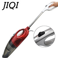 JIQI Rod Vacuum Cleaner Handheld Dry Suction Sweeper Handheld Bed Mites Catcher Home Auto Car Dust Collector Aspirator Brush EU