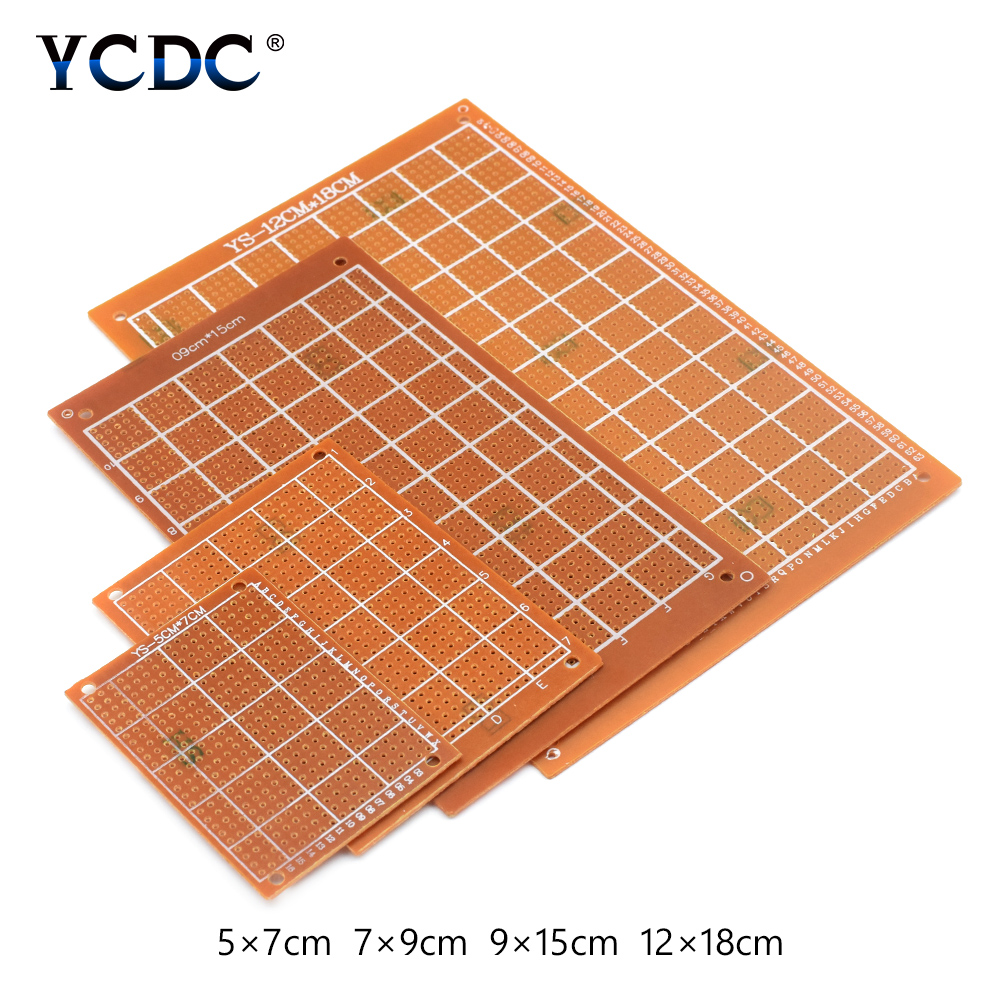 Prototype Universal Printed Circuit Board Breadboards 10 Pcs ... on