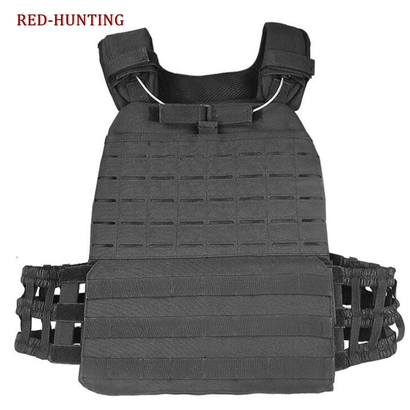 2020 Newly Outdoor Training Sports Body Armor Combat Assault Vest Waistcoat Tactical Molle Vest Plate Carrier Vest