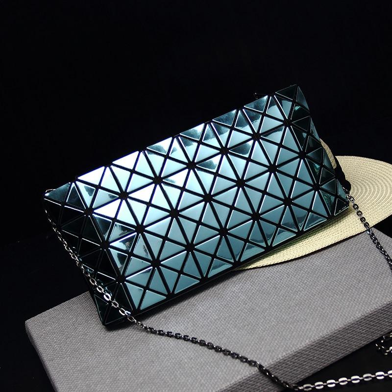 Women's messenger bag like Baobao quality Hot Fashion Preppy Japan and Korean style messenger bags shoulderbag Geometric Lattice