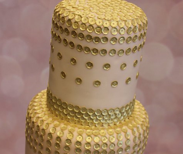 30*40 cm grand fondant moules en silicone paillettes 3d gâteau