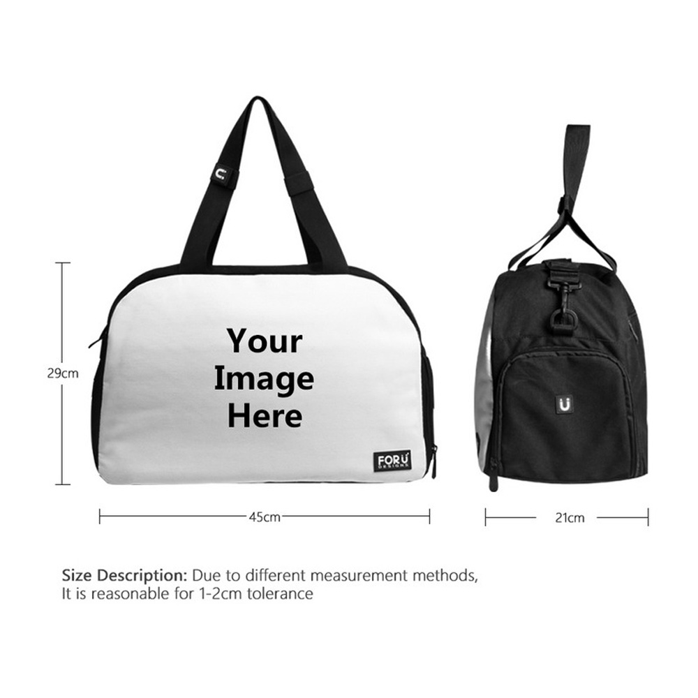 655a9804987d FORUDESIGNS Women Sport Bags for Fitness Cute Yorkshire Printed Female Yoga  Mat Bag Outdoor Athletic Bag Large Tote Shoes Pocket-in Gym Bags from Sports  ...