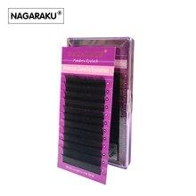 NAGARAKU 3D-6D 0.07 Volume Eyelash Extensions Mixed Length in One Lash Strip,Camellia Eyelash, Pandora Eyelashes