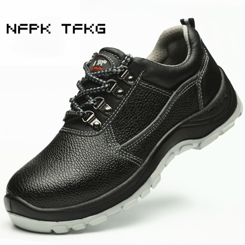 Latest Collection Of Mens Casual Big Size Breathable Mesh Steel Toe Caps Working Safety Shoes Plate Platform Security Tooling Boots Protect Footwear Men's Shoes