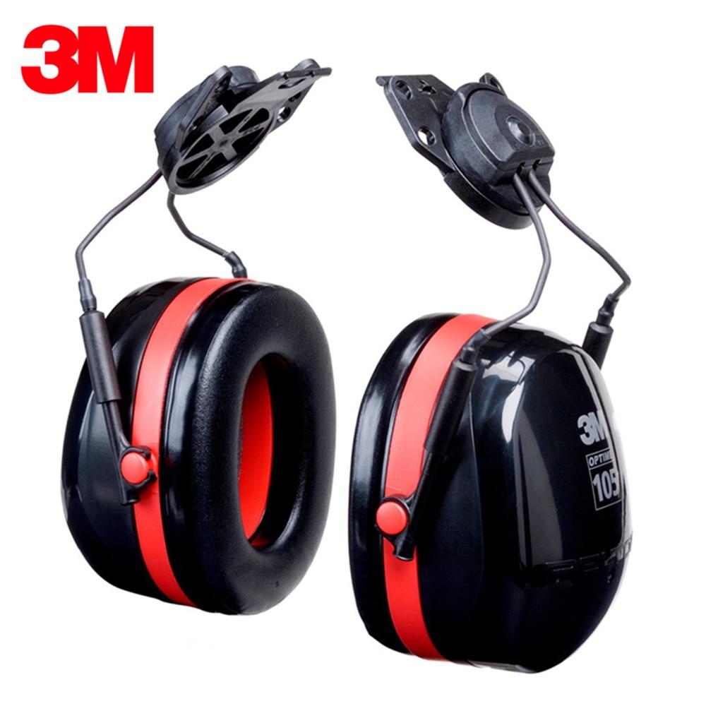 3M H10P3E Wear Earmuffs Noise Protection Sound Insulation Adjustable Noise Canceling Headphones Shooting Earmuffs стоимость